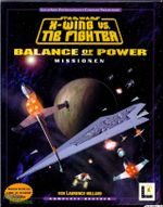Jaquette Star Wars : X-Wing vs. TIE Fighter - Balance of Power