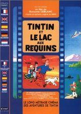 Couverture Tintin et le lac aux requins