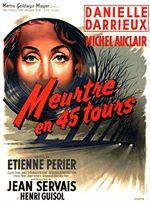 Affiche Meurtre en 45 Tours