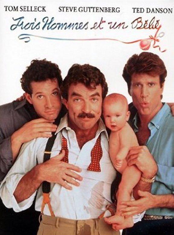 trois hommes et un b b film 1987 senscritique. Black Bedroom Furniture Sets. Home Design Ideas