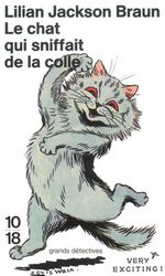Couverture Le Chat qui sniffait de la colle
