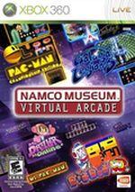 Jaquette Namco Museum : Virtual Arcade