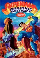 Affiche Superman contre Brainiac
