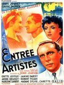 Affiche Entrée des artistes