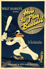 Affiche Dingo joue au base-ball