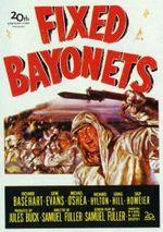 Affiche Baïonnette au canon
