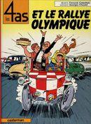 Couverture Les 4 as et le rallye olympique