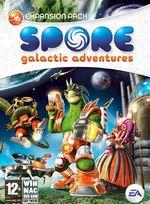 Jaquette Spore : Aventures galactiques