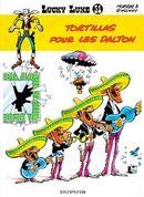 Couverture Tortillas pour les Dalton - Lucky Luke, tome 31