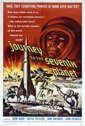 Affiche Voyage vers la septième planète