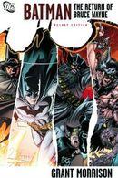 Couverture Batman: The Return of Bruce Wayne