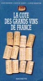 Couverture La cote des grands vins de France