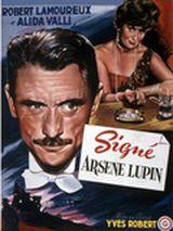 Affiche Signé Arsène Lupin