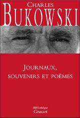 Couverture Journal, souvenirs et poèmes