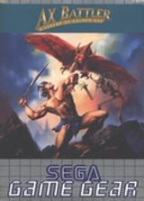 Jaquette Ax Battler : A Legend of Golden Axe