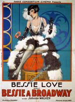 Affiche Bessie à Broadway