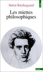 Couverture Les Miettes philosophiques