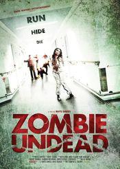 Affiche Zombie Undead