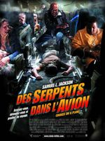 Affiche Des serpents dans l'avion