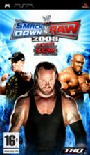 Jaquette WWE Smackdown Vs. Raw 2008
