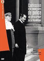 Affiche Confession d'un commissaire de police au procureur de la République
