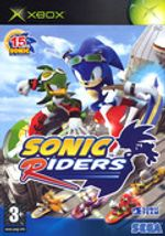 Jaquette Sonic Riders
