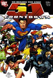 Couverture Countdown to Final Crisis