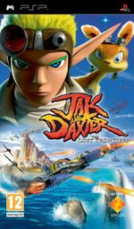 Jaquette Jak and Daxter : The Lost Frontier
