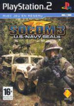 Jaquette Socom 3 : U.S. Navy Seals
