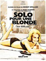 Affiche Solo pour une blonde