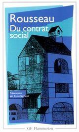 Couverture Du contrat social