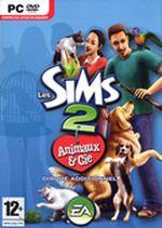 Jaquette Les Sims 2 : Animaux & Cie