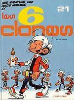 Couverture Les 6 clones - Les Petits Hommes, tome 21