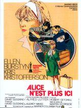 Affiche Alice n'est plus ici