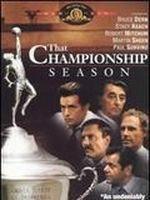Affiche That championship season