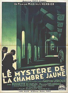Le myst re de la chambre jaune film 1930 senscritique - Le mystere de la chambre jaune film ...