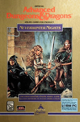 Jaquette Advanced Dungeons & Dragons : Neverwinter Nights