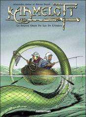 Couverture Le Serpent géant du lac de l'ombre - Kaamelott, tome 5