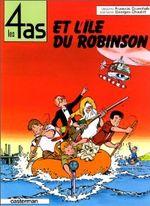 Couverture Les 4 as et l'île du Robinson - Les 4 as, tome 9