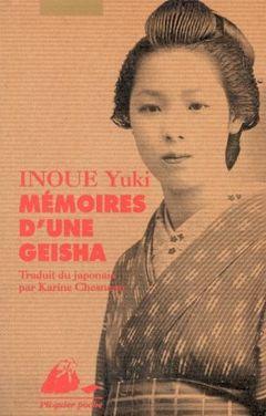Couverture Mémoires d'une Geisha