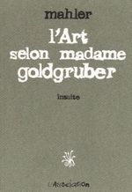 Couverture L'art selon madame Goldgruber