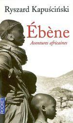 Couverture Ebène