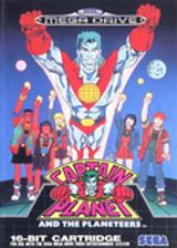 Jaquette Captain Planet and the Planeteers