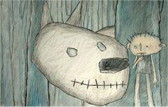 Affiche Le Loup-blanc