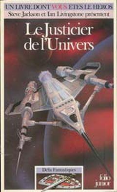 Couverture Le Justicier de l'Univers - Défis fantastiques, tome 33