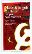 Couverture Manifeste du parti communiste
