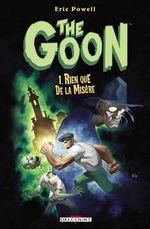Couverture Rien que de la misère - The Goon, tome 1