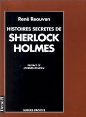 Couverture Histoires secrètes de Sherlock Holmes