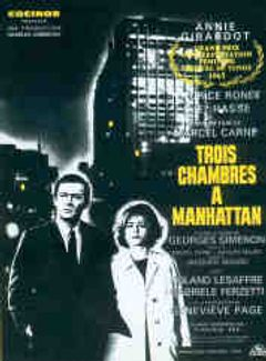 Affiche Trois Chambres à Manhattan