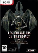 Jaquette Les Chevaliers de Baphomet : Les Gardiens du Temple de Salomon